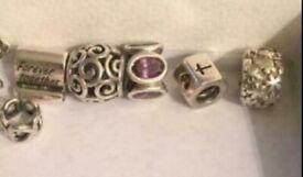 Pandora charms and bracelet please ( READ DESCRIPTION)