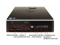 DESKTOP HP 6200/ INTEL QUAD CORE i5 3.10 GHz/ 4 GB RAM/ 500 GB HDD/ INTEL HD / WIN 10