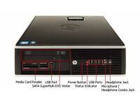 DESKTOP HP 6200/ INTEL QUAD CORE i5 3.10 GHz/ 4 GB RAM/ 500 GB HDD/ INTEL HD / WINDOWS 10
