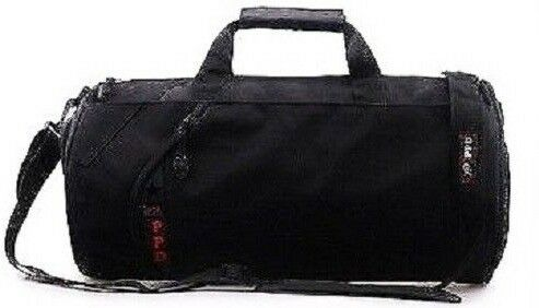 Black PPD Unisex Men Ladies Holdall Weekender Sports Gym Travel Duffle Bag. 6b4428dce4e52