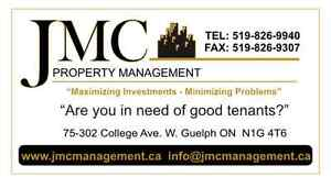 """ARE YOU IN NEED OF GOOD TENANTS?"" GIVE US A CALL AND RELAX!"