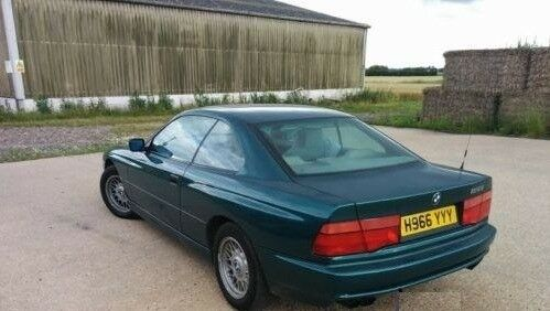 Classic Bmw 850i Ci 1991 H Reg Green