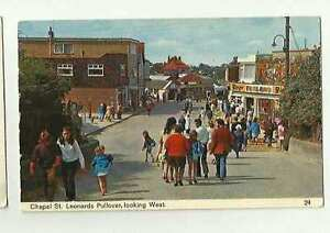 Chapel St Leonards Pullover Old Postcard 0552