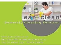 Domestic cleaning service, house cleaner & office cleaner in Birmingham, Moseley, Shirley & Solihull