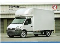 24/7☎ MAN AND VAN REMOVAL MOVING DELIVERY SERVICE HIRE WITH A LUTON TRUCK FURNITURE MOVERS Uk Eu