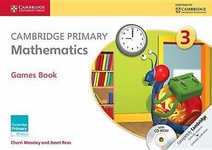 Cambridge Primary Mathematics Stage 3 Games Book with CDROM Cambridge Internat - <span itemprop='availableAtOrFrom'>Gillingham, United Kingdom</span> - Cambridge Primary Mathematics Stage 3 Games Book with CDROM Cambridge Internat - Gillingham, United Kingdom