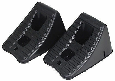 Jack stands and tyre chocks will not only help you drain your radiator but keep you safe.