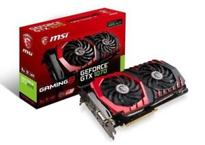 MSI GeForce GTX 1070 DirectX 12 GTX 1070 GAMING X 8G 8GB 256-Bit GDDR5 PCI Express 3.0 x16 HDCP Ready SLI Support ATX Vi