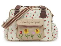 Pink lining yummy mummy/blooming gorgeous changing/nappy bag