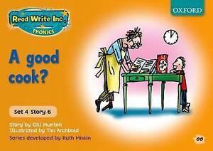 Read Write Inc. Phonics: Orange Set 4 Storybooks: A Good Cook? by Ruth...