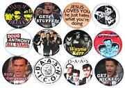 Button Pins Badges