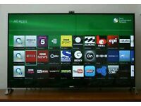 """Sony 55"""" LED smart Android tv 3D wi-fi built in camera HD FREEVIEW Sony KDL-55W955"""