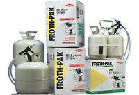Froth Pak Spray Foam kit 600 Board feet