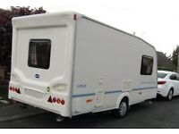 Bailey Discovery 100 Touring Caravan for sale. In excellent condition