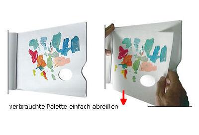 Palette aus Papier zum abreißen Malpalette spezial