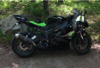 2009 ZX6R Monster Energy Edition