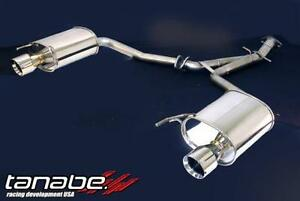 Tanabe Medallion Touring Axle back 06-13 IS250/350 RWD/AWD