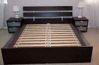 IKEA HOPEN DOUBLE BED FRAME - MUST PICK UP