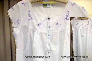 Brand new loose fitting and cosy 100% cotton night gown On Sale Cambridge Kitchener Area image 5
