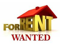 WANTED: 1/2bed house to rent