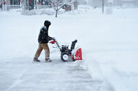 Quick and Easy snow removal services