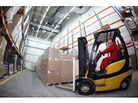Reach Forklift Driver