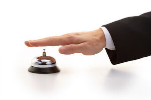 Easy Service Call Ring Bell