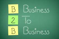 Sales Person/Vendeur avec B2B experience needed – Great opp.