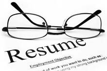Online Resume and Selection Criteria Service Sydney City Inner Sydney Preview
