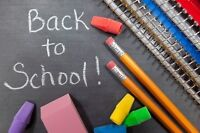 """""""Back to school"""" outdoor mini sessions"""