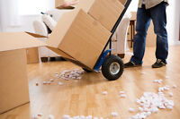 Quick and easy moving services