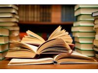 Private English Literature and Language Tuition, Proof-reading services and UCAS Guidance