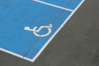 Parking Lot Painting, Power Sweeping, Signage and Pressure Wash