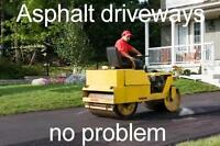 New Asphalt Driveways, Recaps, & Repair