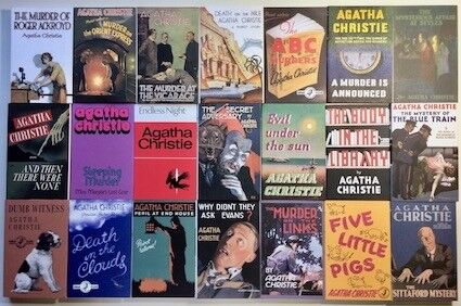 agatha christie books