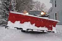 SNOW PLOW SERVICES -- Book Now For Next Storm!
