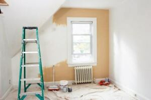 Interior & exterior painting and drywall taping