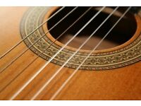Acoustic and classical guitar tutor