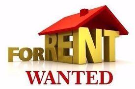 WANTED 1/2 Bedroom Rental Property