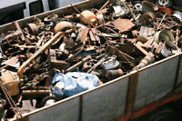 Free Scrap Metal Pick Up and Certain Metals Paid in CASH