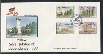 MALAWI Silver Jubilee of Independence FIRST DAY COVER