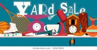 MULTI-FAMILY YARD SALE TWO DAYS ONLY