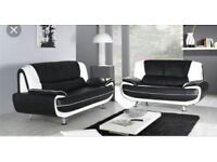 New Carol 3&2 seater leather sofas
