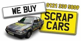 Scrap Cars wanted top price paid same day collection with in 30 minuets 0121 339 5809