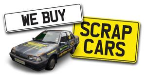 SCRAP CAR AND JUNK REMOVAL!! Top $$$