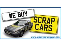 SCRAP CARS AND VANS WANTED. TOP PRICES PAID CASH AND COLLECTED