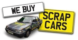 WANTED ALL SCRAP CARS / VANS TOP CASH PRICES PAYED SAME DAY FREE COLLECTION