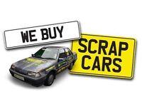 WE BUY SCRAP CARS + VANS £50- £500