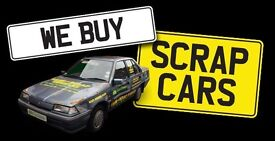 SCRAP CARS NONE RUNNERS RECOVERY NORTHUMBERLAND
