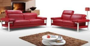 Red Modern couch (GL715)